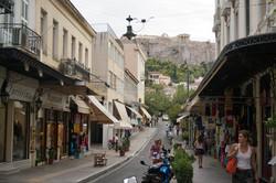Street view to Acropolis
