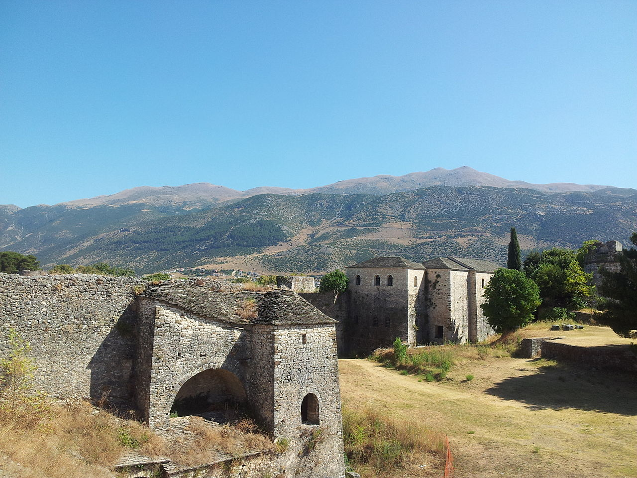 Ioannina Castle (from the inside