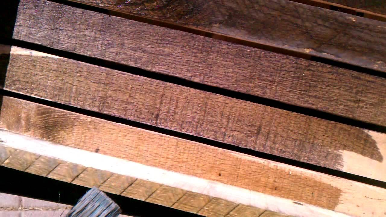 Wood aging
