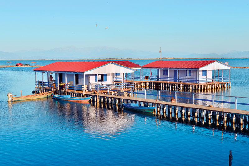 Fish farming storehouses
