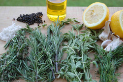 Herbs and natural ingredients
