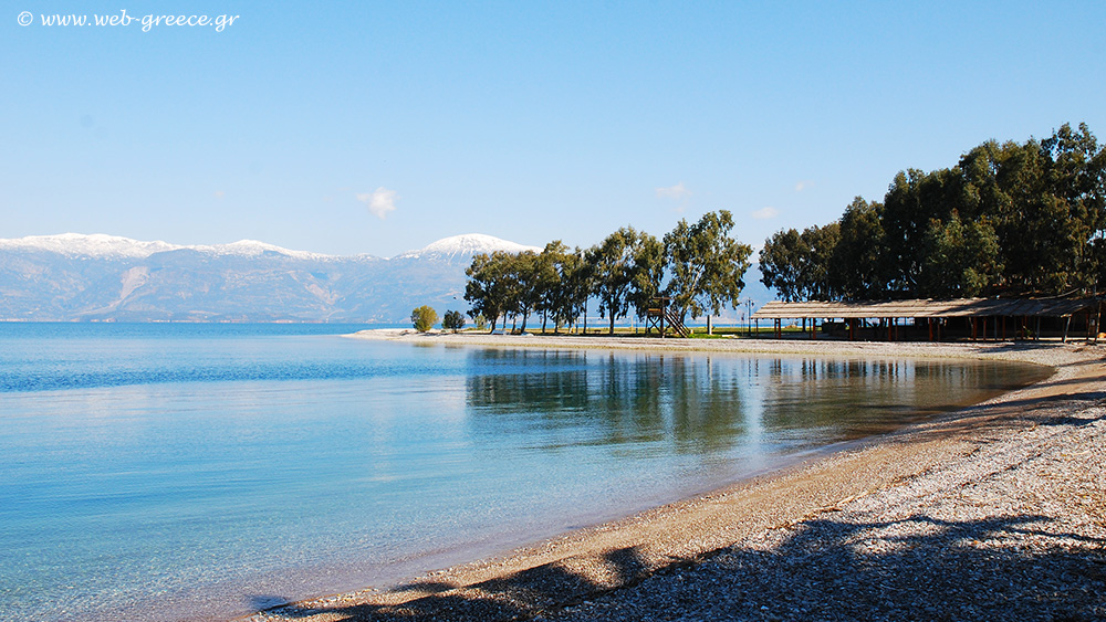 Aegio Akoli beach