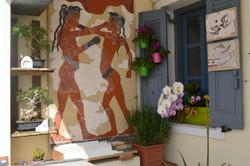 Fresco on a wall