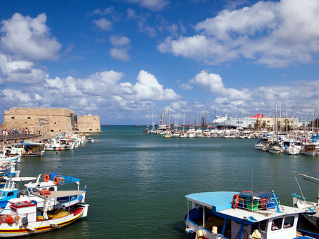 Yiorgos in Heraklion: excursion and BBQ