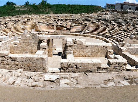 The Ancient Theatre of Larissa Opens its Doors to the Public