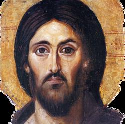 Christ Pantokrator at Sina
