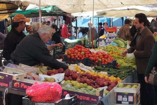 Alexandroupoli food market