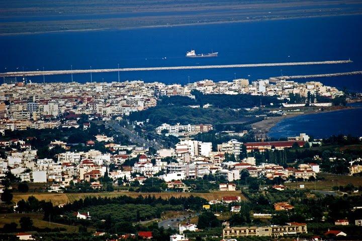 Alexandroupoli aerial view