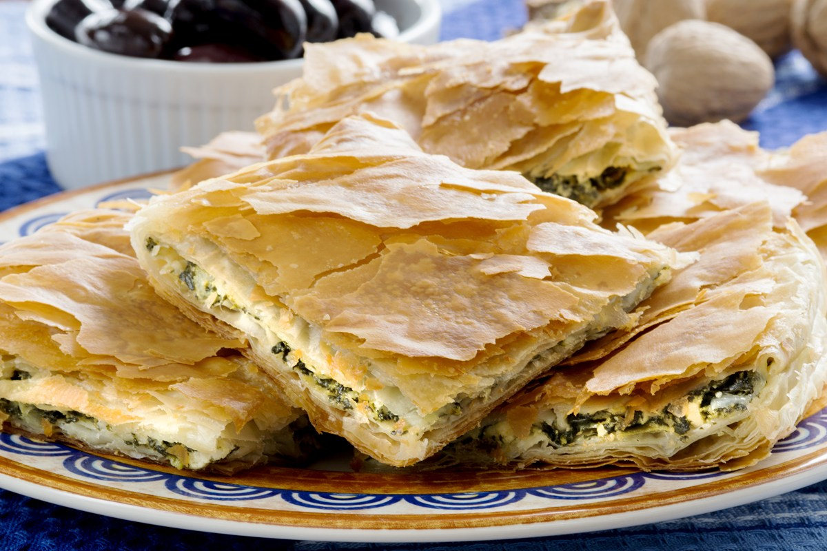 Greek spinach pie