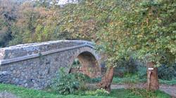 Beautiful bridge in gorge of Richtis