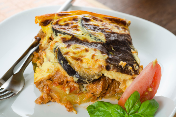 Greek mousaka