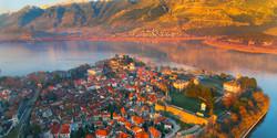 Ioannina aerial view