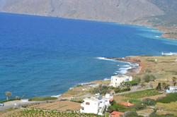 Hersonissos aerial view