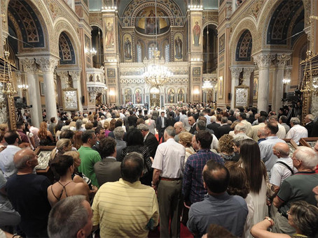 Thousands flock to see the restored Athens Metropolitan Cathedral