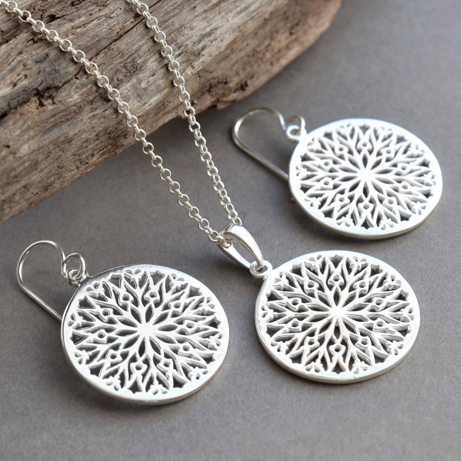 Original silver jewelry