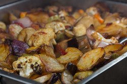 Mpriam, vegetables mix in the oven