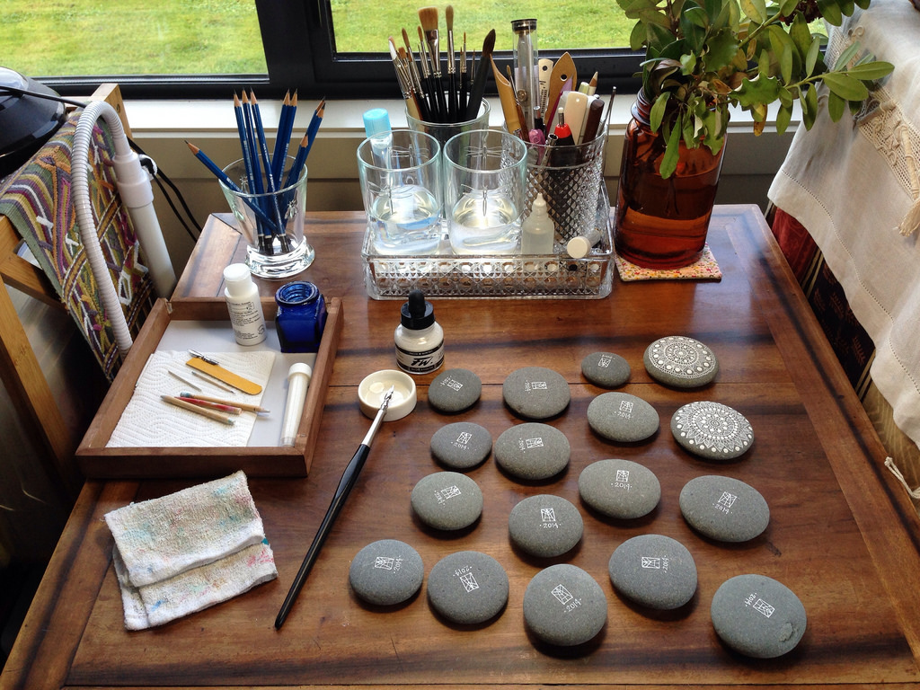 Art of Painting Pebbles