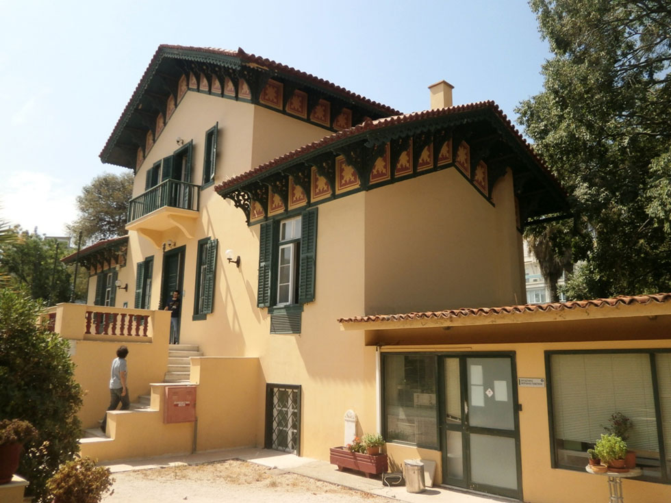 Restored old building