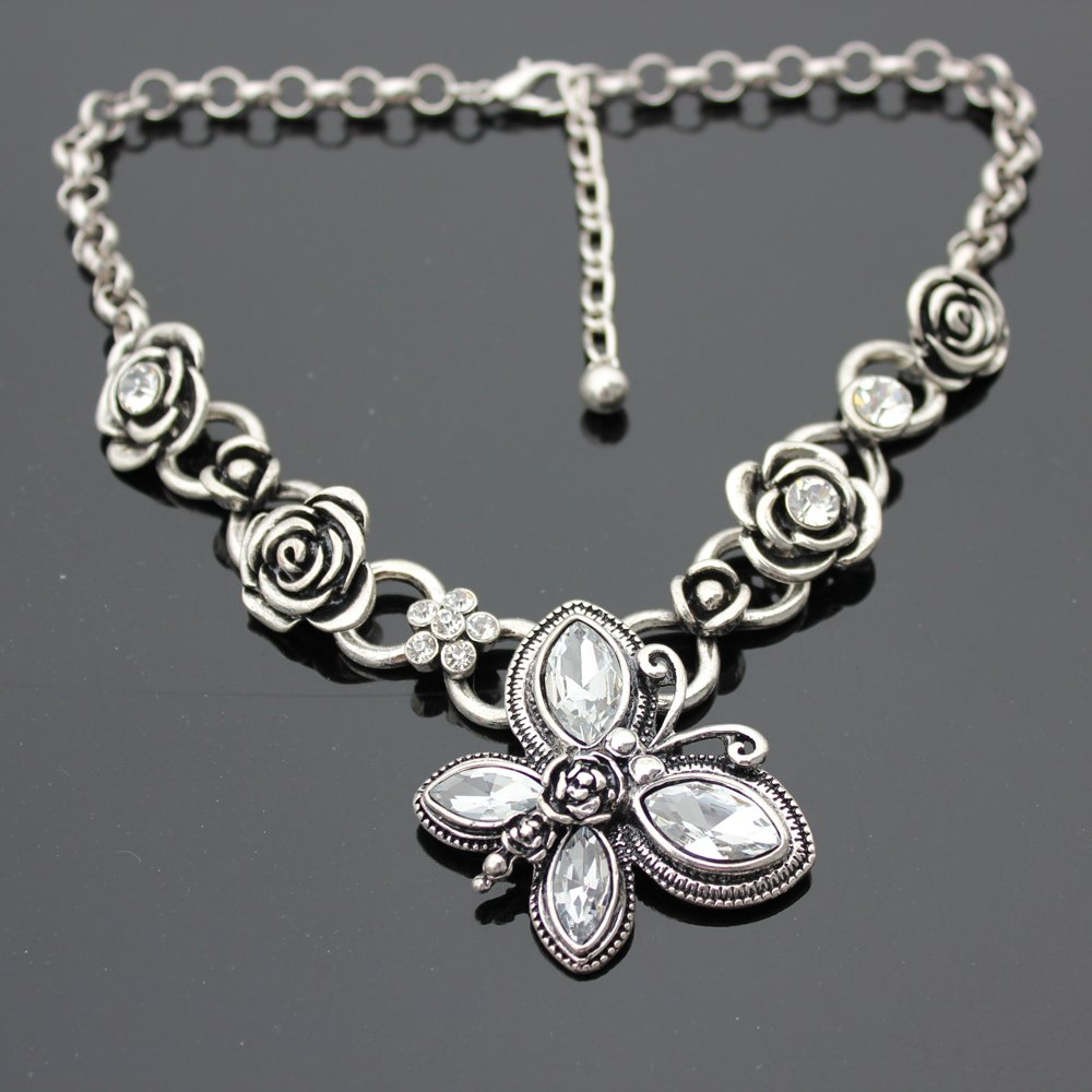 Handmade silver necklace