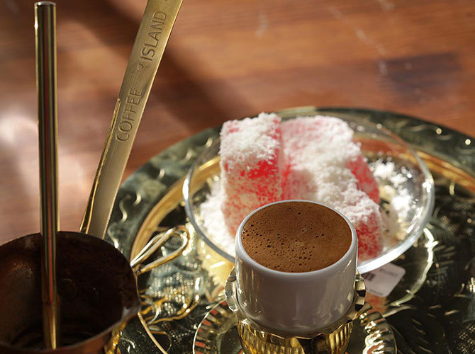 Nafplio greek coffee