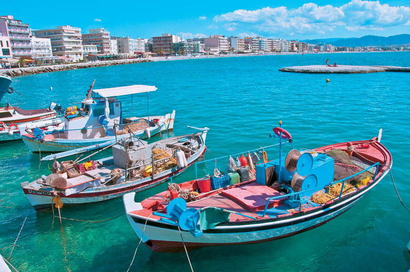Loutraki boats
