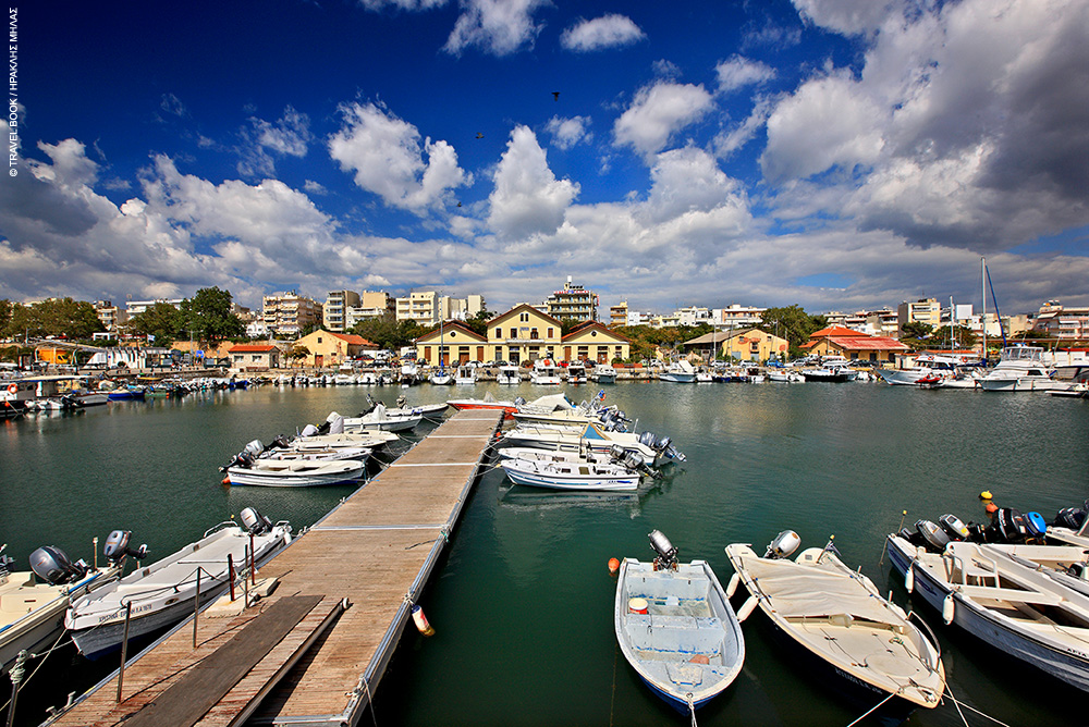 Alexandroupoli Port and Boats
