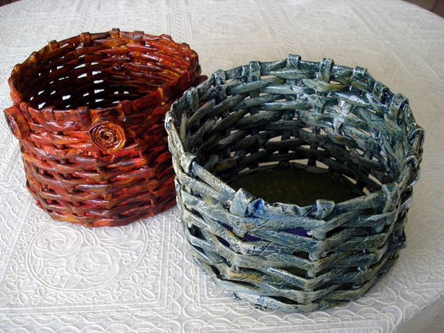Traditional handmade baskets