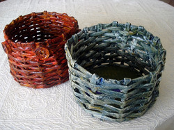 Traditional handmade baskets