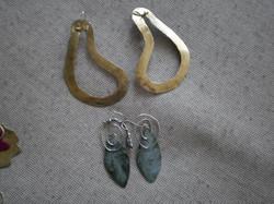 Handmade jewels with metal