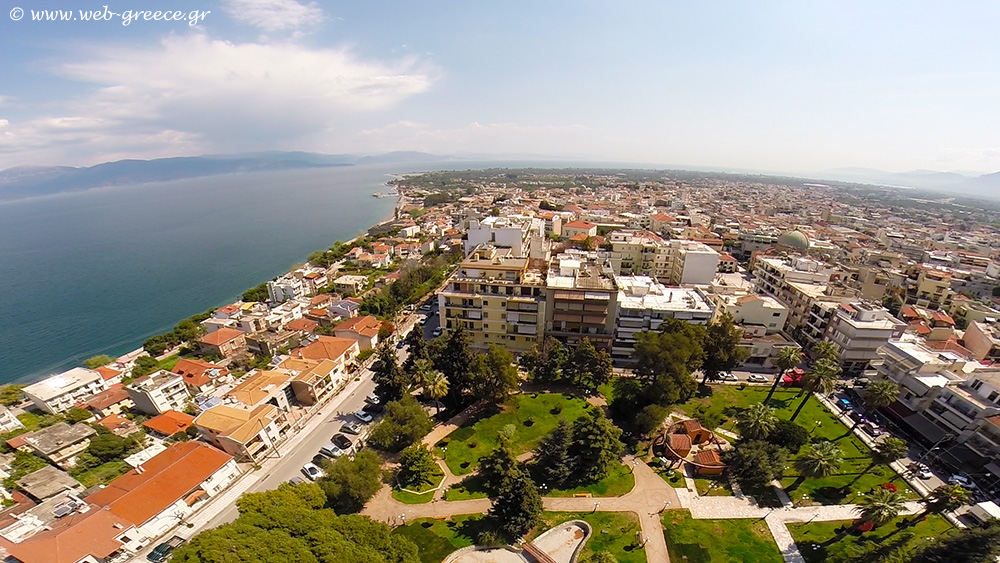 Aigio aerial photo