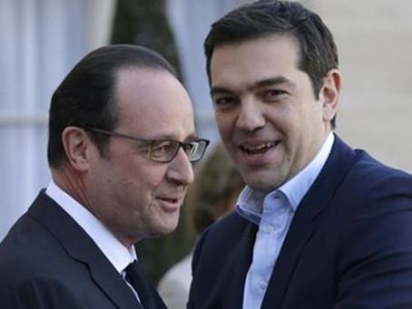 President Hollande is visiting Greece