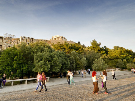In Athens we wandered around a lot... it is a great way to see the city