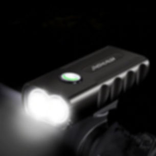 3-Mode LED Flashlight USB Rechargeable Bicycle Lamp