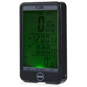 Auto Light Mode Touch Bike Computer Odometer