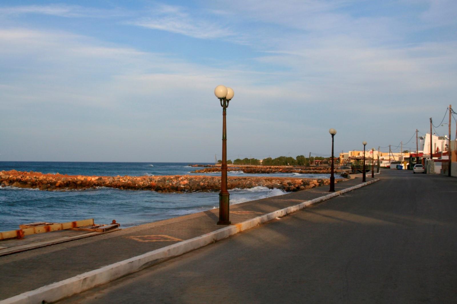 Gournes beach front
