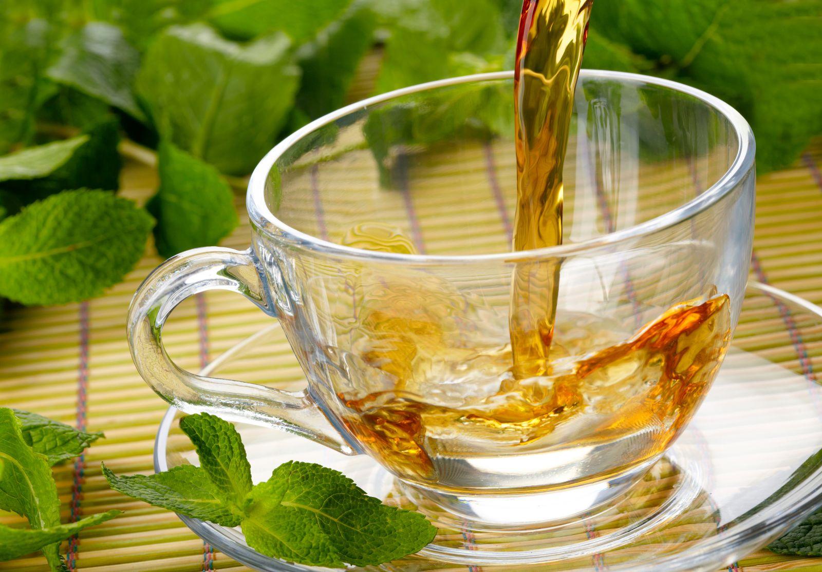 Herbal tea drink
