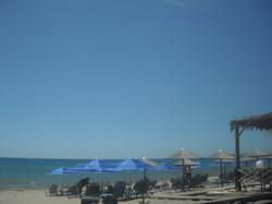 Relaxing at Spiantza beach