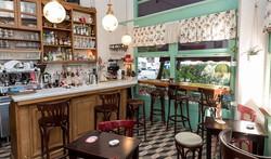 Picturesque coffe shop
