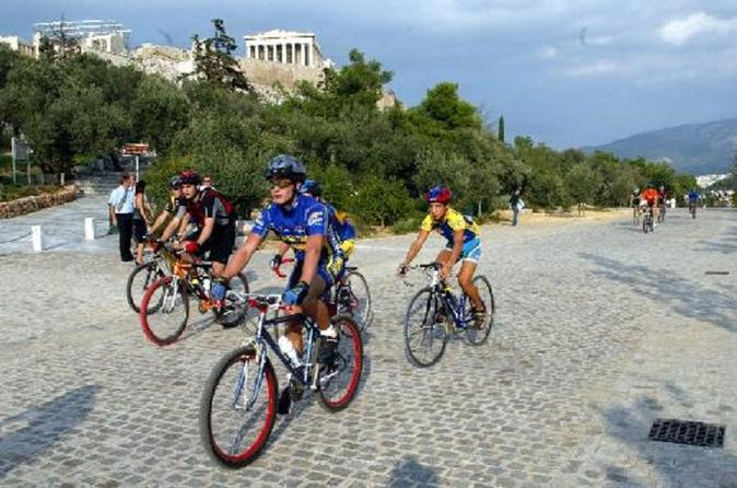 4 hrs, €100, Bike & Wine Tour