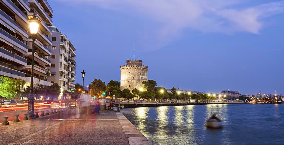 Sea front and the White Tower