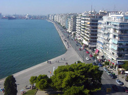 The sea front