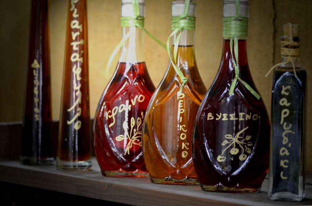 Traditional liqueur drinks
