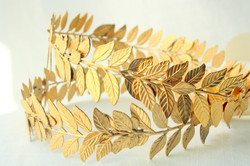 Brass wreath
