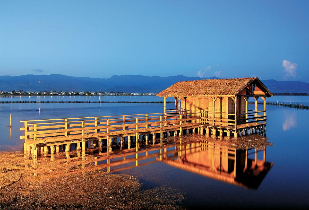 Messolonghi lagoon