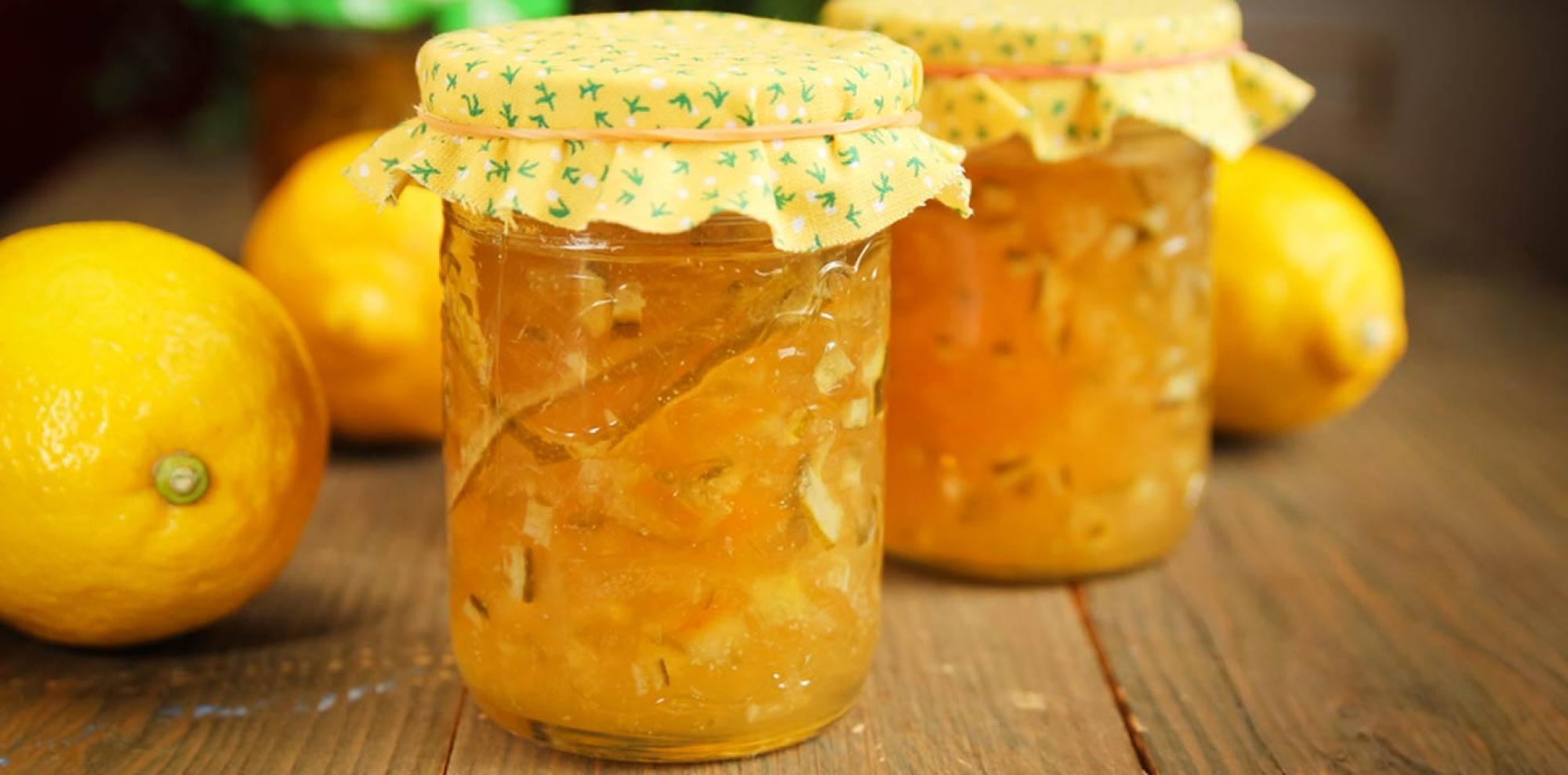 Lemon marmalades