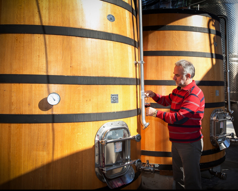 Wine-making process