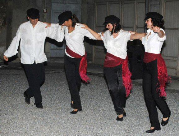 Greek dancing