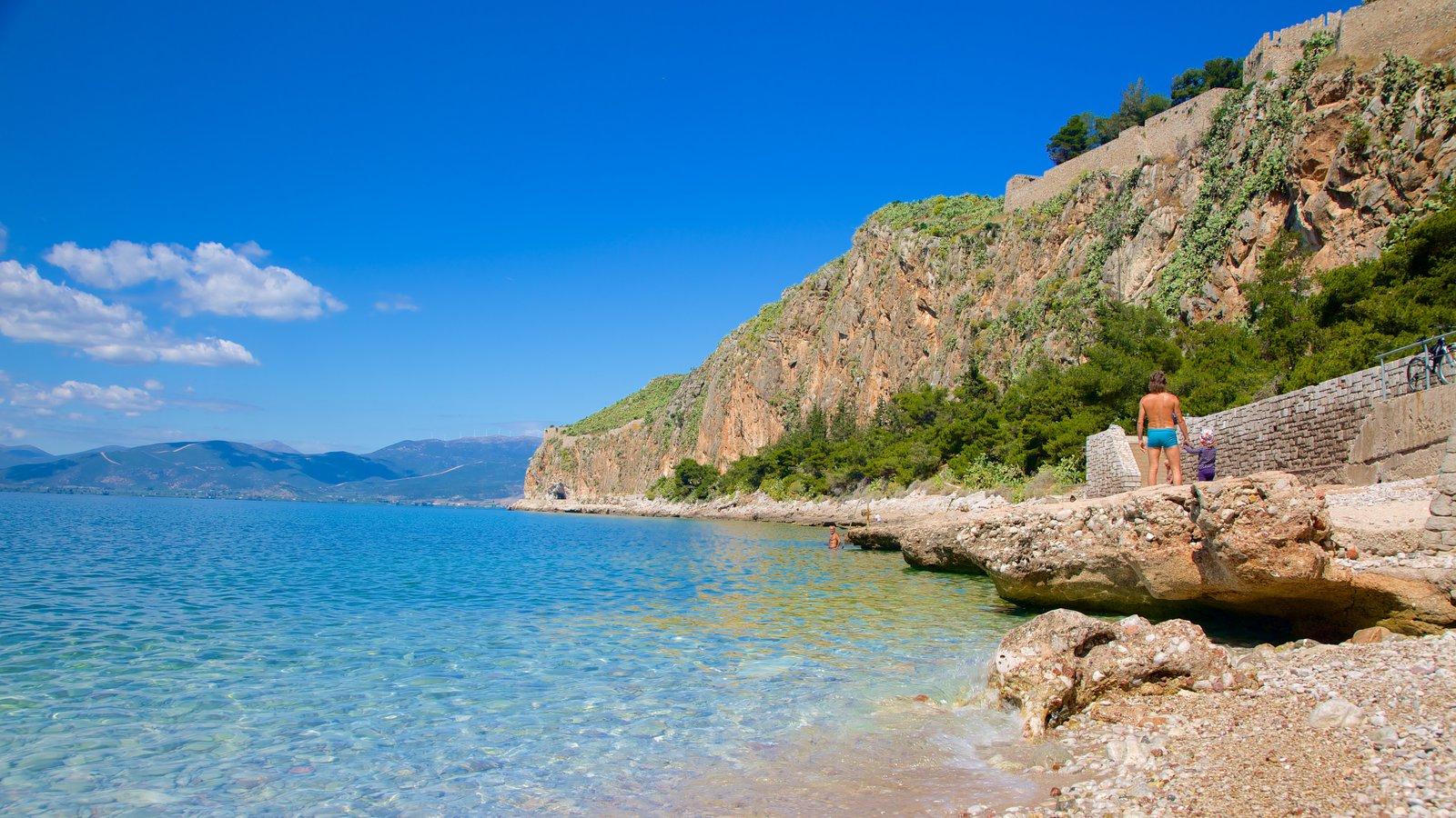 Nafplio coastline