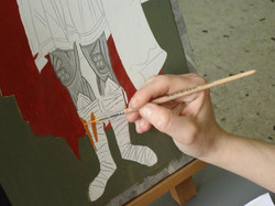 Colour application