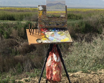 Free PLEIN AIR Art Workshops by The Lab starting July 15th